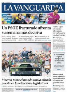 La Vanguardia – 15 Mayo, 2017 [PDF]