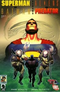 Superman / Batman vs Aliens / Predator #1 (2005) [PDF]