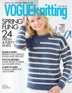 Vogue Knitting – Early Spring, 2016 [PDF]