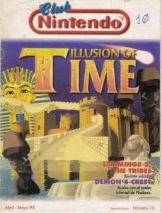Club Nintendo Segunda Época – Número 10 – Abril-Mayo, 1995 [PDF]