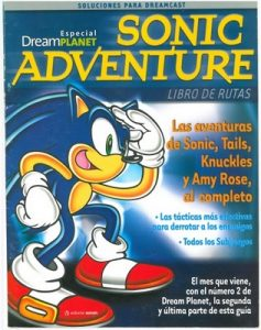 Dream Planet Especial Sonic Adventure I – Libro de Rutas [PDF]