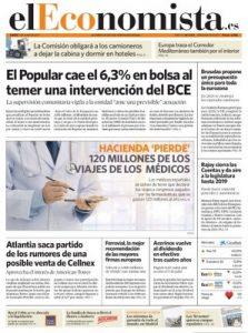 El Economista – 01 Junio, 2017 [PDF]