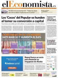 El Economista – 31 Mayo, 2017 [PDF]
