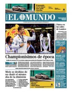 El Mundo – 04 Junio, 2017 [PDF]