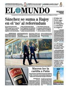 El Mundo – 30 Mayo, 2017 [PDF]