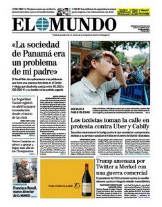 El Mundo – 31 Mayo, 2017 [PDF]