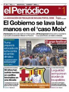 El Periódico de Catalunya – 01 Junio, 2017 [PDF]