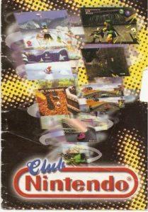 Folleto Club Nintendo, 1998 [PDF]