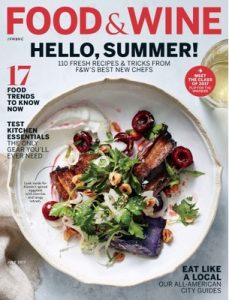 Food & Wine – July, 2017 [PDF]