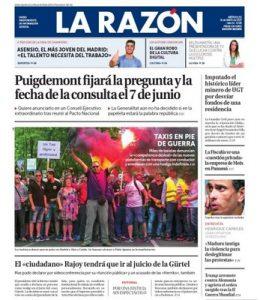 La Razón – 31 Mayo, 2017 [PDF]