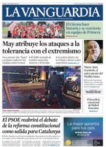 La Vanguardia – 05 Junio, 2017 [PDF]