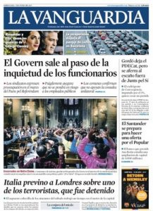 La Vanguardia – 07 Junio, 2017 [PDF]
