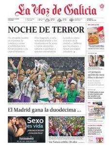 La Voz de Galicia – 04 Junio, 2017 [PDF]