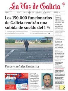 La Voz de Galicia – 30 Mayo, 2017 [PDF]