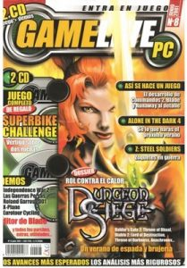PC Gamelive N°8 – Junio, 2001 [PDF]