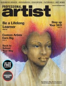 Professional Artist – August-September, 2017 [PDF]