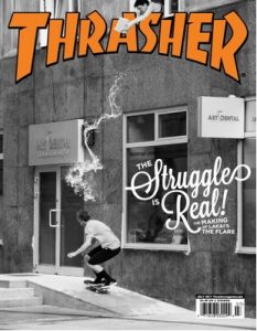 Thrasher Skateboard Magazine – July, 2017 [PDF]