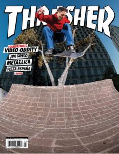 Thrasher Skateboard Magazine – March, 2017 [PDF]