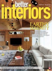 Better Interiors – August, 2017 [PDF]
