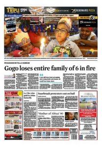 Cape Times – July 27, 2017 [PDF]