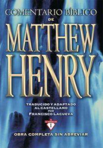 Comentario Bíblico Matthew Henry – Matthew Henry [ePub & Kindle]