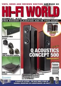 Hi-Fi World – September, 2017 [PDF]