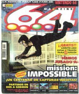 Magazine 64 Número 06 – 30 Junio, 1998 [PDF]