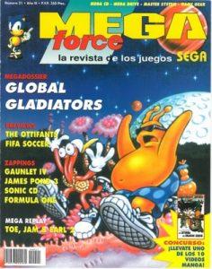 MegaForce Número 21 – Año 3 [PDF]