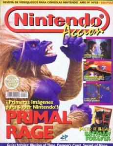 Nintendo Accion N°33 – Año 4 [PDF]