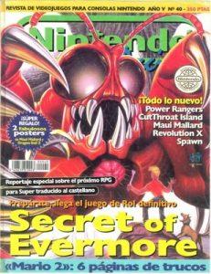 Nintendo Accion N°40 – Año 5 [PDF]