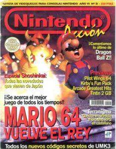 Nintendo Accion N°51 – Año 6 [PDF]