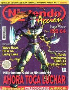 Nintendo Accion N°54 – Año 6 [PDF]