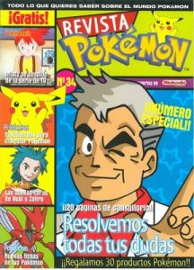 Pokemon Revista N°34 [PDF]