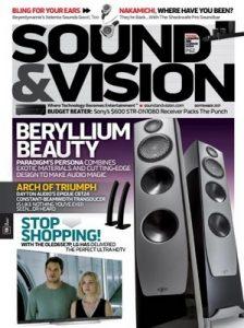 Sound & Vision – September, 2017 [PDF]