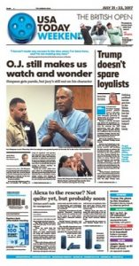 USA Today July 21, 2017 [PDF]