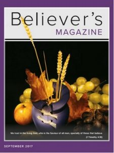 Believer's Magazine – September, 2017 [PDF]