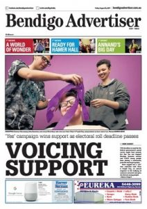 Bendigo Advertiser – August 25, 2017 [PDF]