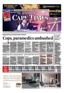 Cape Times – August 25, 2017 [PDF]