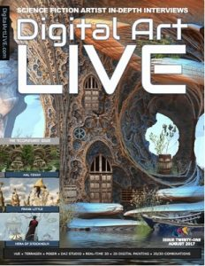 Digital Art Live Issue 21 – August, 2017 [PDF]
