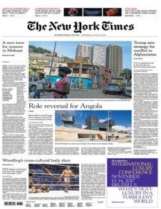 International New York Times – 23 August, 2017 [PDF]
