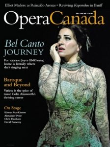 Opera Canada – Volume LVIII, Issue 1, 2017 [PDF]