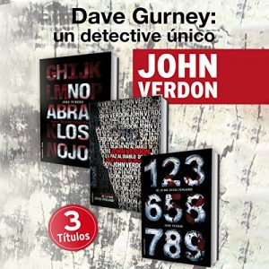 Pack David Gurney – John Verdon [Narrado por John Verdon] [Audiolibro] [Español]