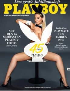 Playboy Germany – Juli, 2017 [PDF]