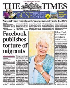 The Times – 25 August, 2017 [PDF]