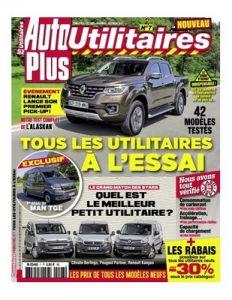 Auto Plus Hors-Série Utilitaires N°7 – Octobre Novembre Décembre, 2017 [PDF]