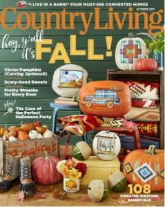Country Living USA – October, 2017 [PDF]