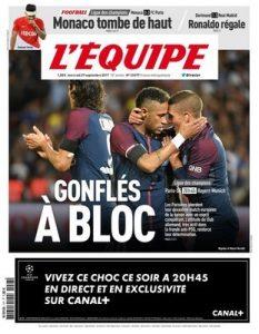 L'Equipe du Mercredi – 27 Septembre, 2017 [PDF]