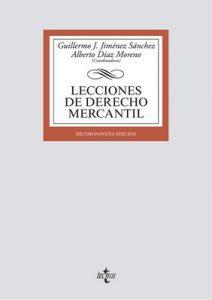 Lecciones de Derecho Mercantil (Derecho – Biblioteca Universitaria De Editorial Tecnos) – Luis Angulo Rodríguez, Rafael Padilla González [ePub & Kindle]