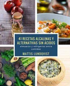 41 recetas alcalinas y alternativas sin ácidos: almuerzo y refrigerios entre comidas – Mattis Lundqvist [ePub & Kindle]