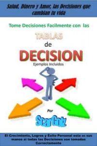 Tablas de Decision: Salud Dinero y Amor las Decisiones que Cambian tu Vida – Scar Golz [ePub & Kindle]